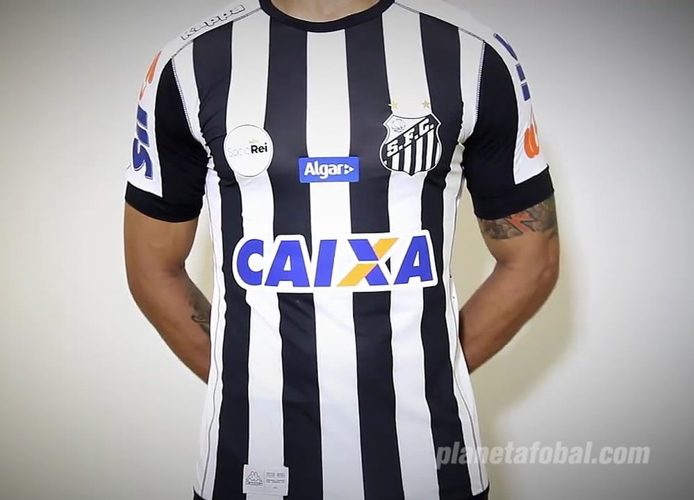 Nueva camiseta suplente del Santos | Foto Captura