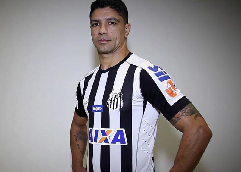 Nueva camiseta suplente del Santos   Foto Captura