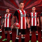 Camiseta titular 2017-18 Adidas del Sheffield United   Foto Web Oficial