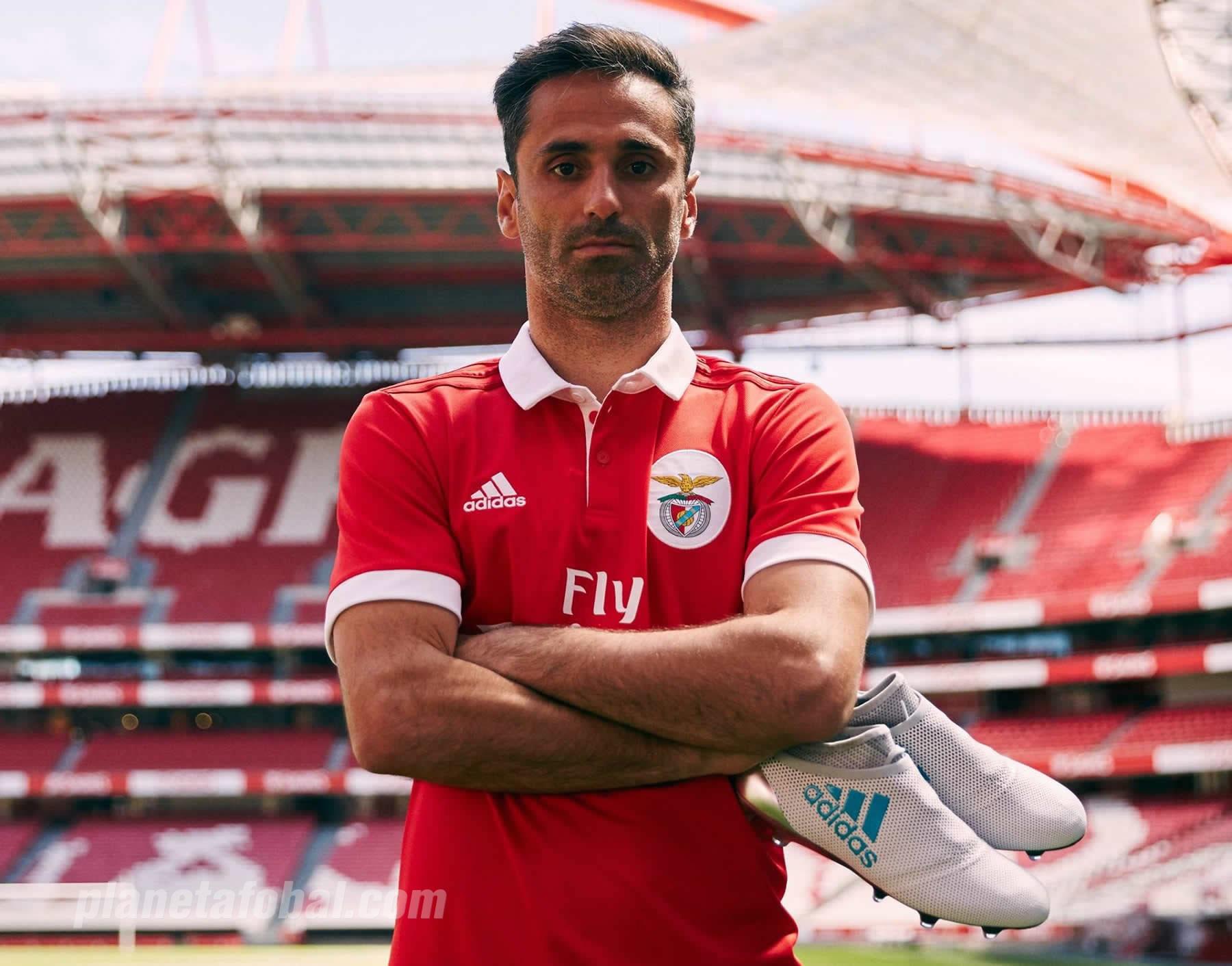 Nueva camiseta titular 2017-18 del Benfica | Foto Web Oficial