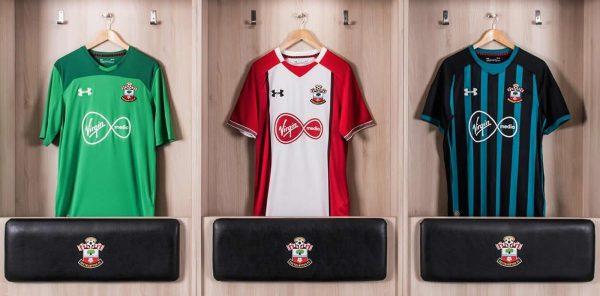 Nuevas camisetas Under Armour del Southampton FC | Foto Web Oficial