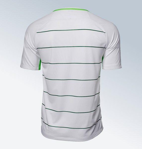 Camiseta suplente Nike 2017-18 del Werder Bremen | Foto Web Oficial