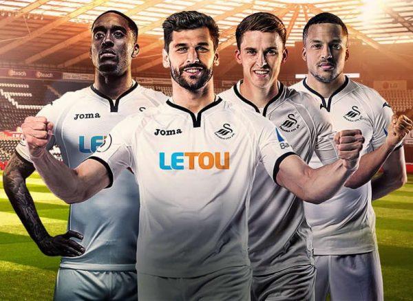 Camiseta titular del Swansea City para 2017/2018 | Foto Web Oficial