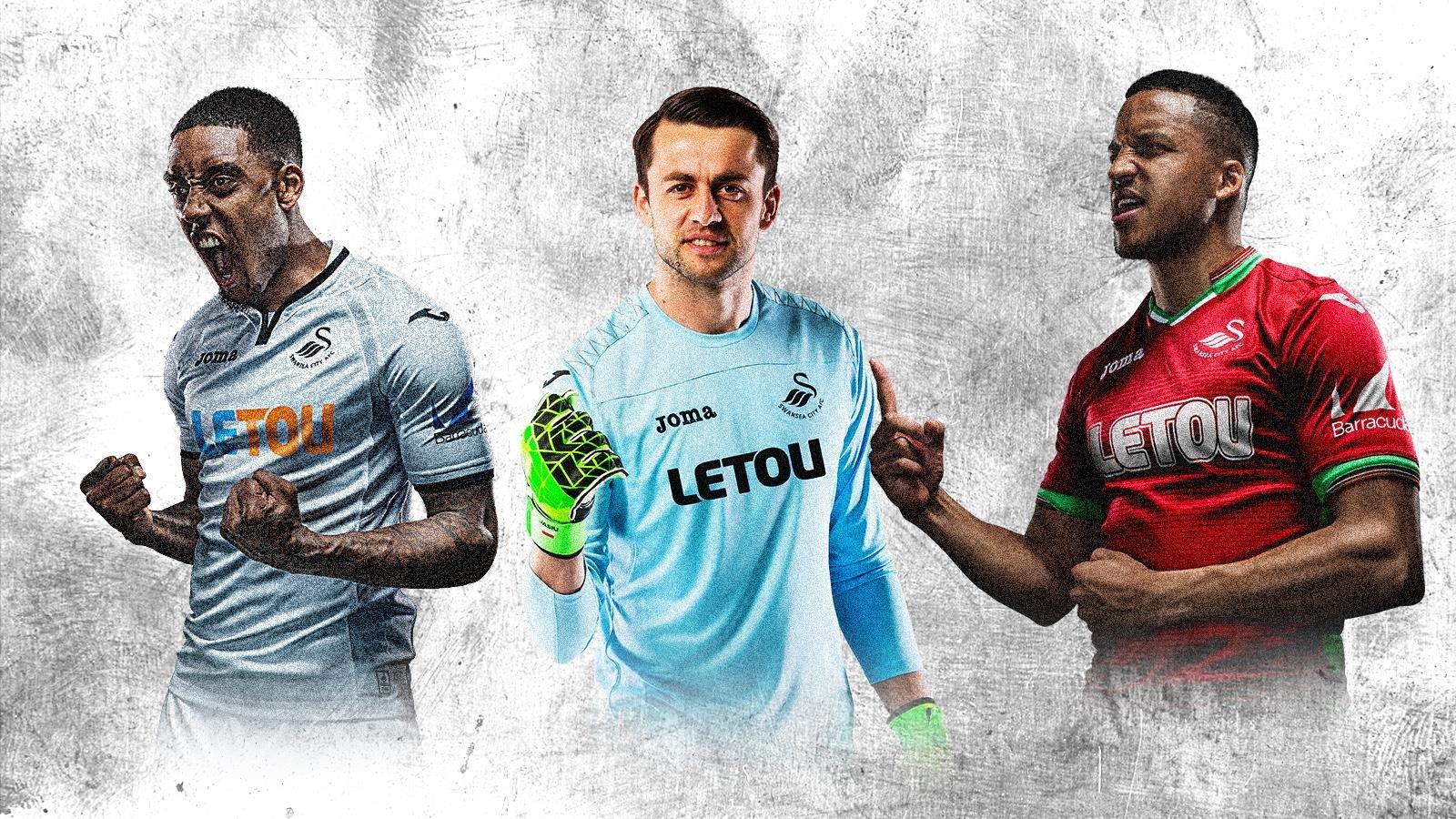 Nuevas camisetas del Swansea City | Foto Web oficial