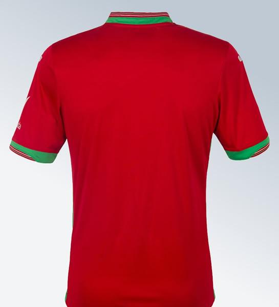 Camiseta suplente del Swansea City para 2017/2018 | Foto Tienda Oficial
