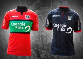 Camisetas 2017-18 del NEC Nijmegen | Foto Web Oficial
