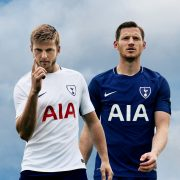 Camisetas Nike 2017-18 del Tottenham | Foto Web Oficial