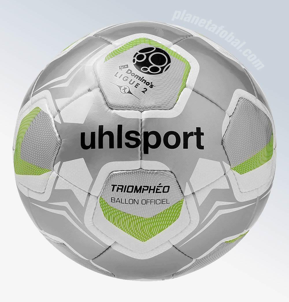 Triomphéo el balón para la Ligue 2 2017-18 | Imagen Uhlsport