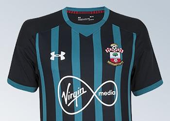 Camiseta suplente Under Armour del Southampton FC | Foto Web Oficial