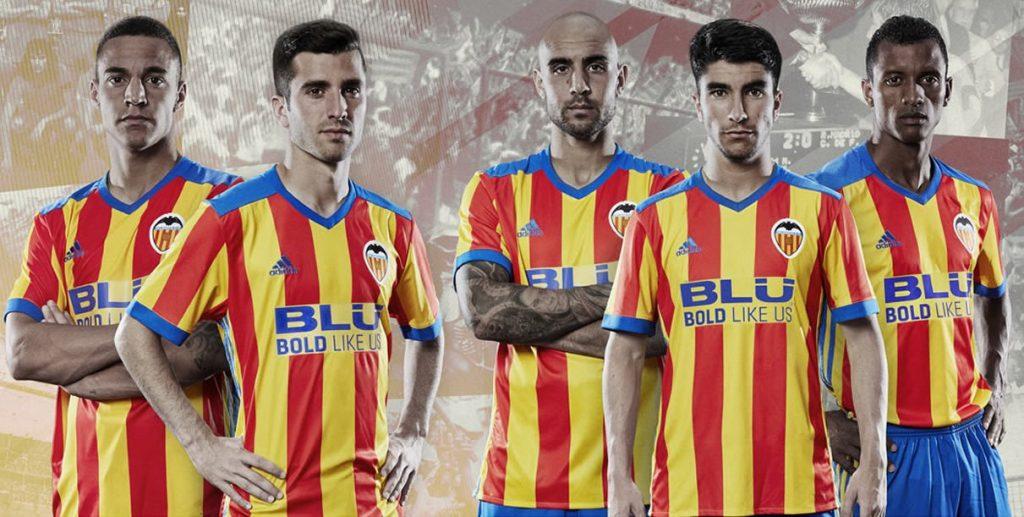 camiseta suplente adidas del valencia cf 2017 2018