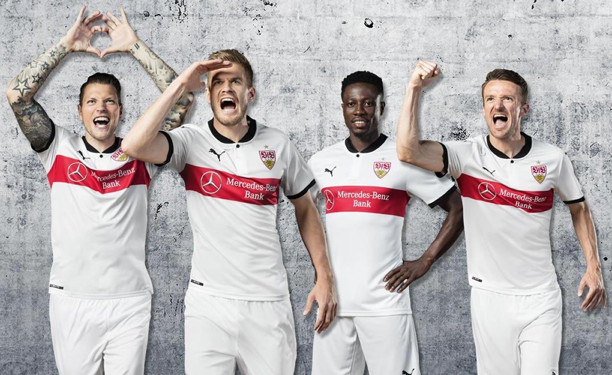 Camiseta titular Puma 2017-18 del Stuttgart | Foto Web Oficial