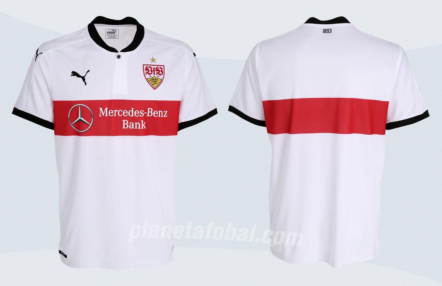 Camiseta titular Puma 2017-18 del Stuttgart | Imágenes Web Oficial