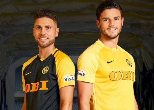 Nuevas camisetas Nike del Young Boys | Foto Web Oficial