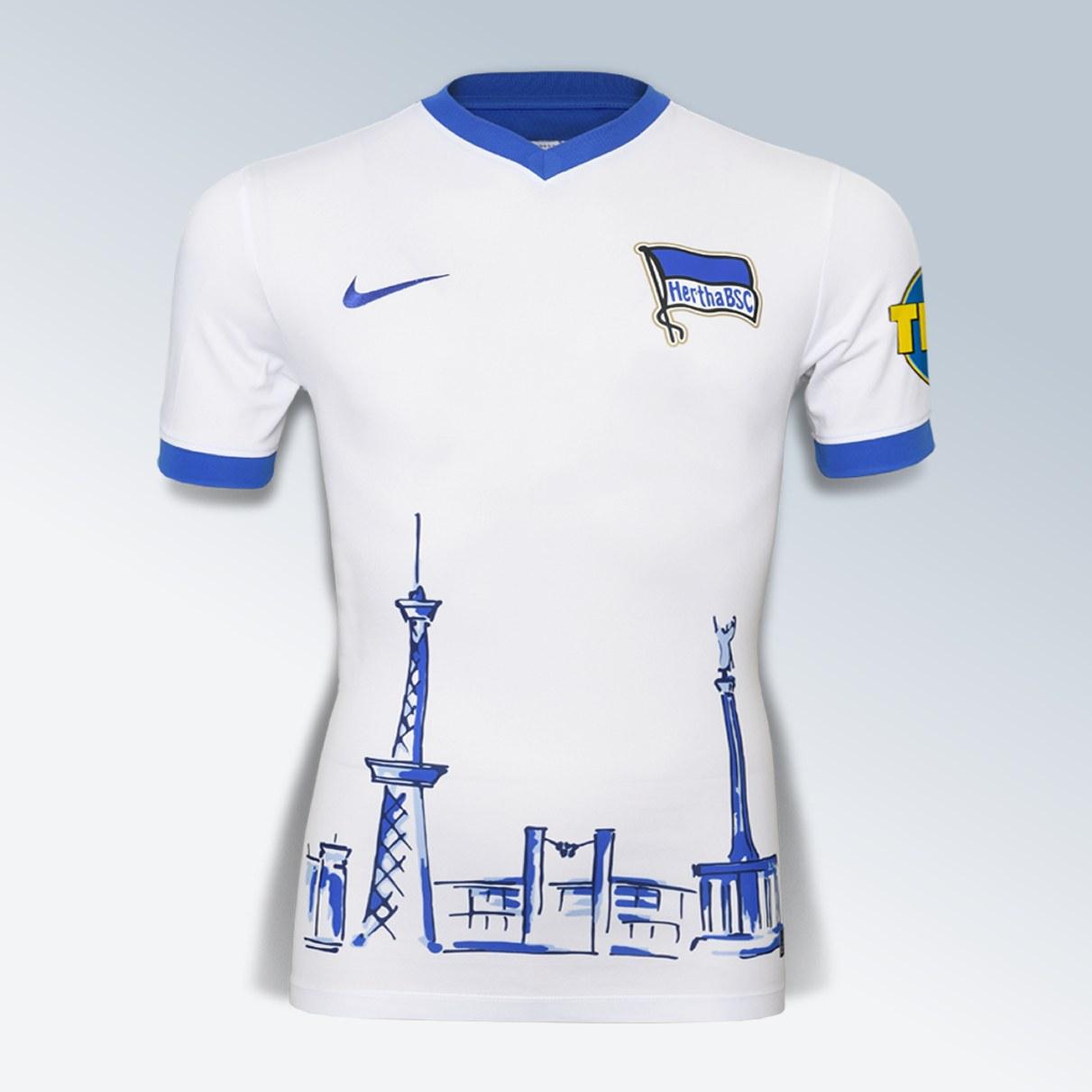 Camiseta por el 125 aniversario del Hertha BSC | Foto Web Oficial