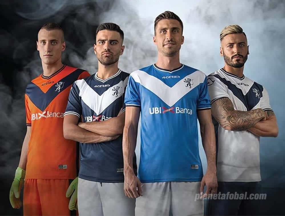 Nuevas camisetas del Brescia Calcio | Foto Web Oficial