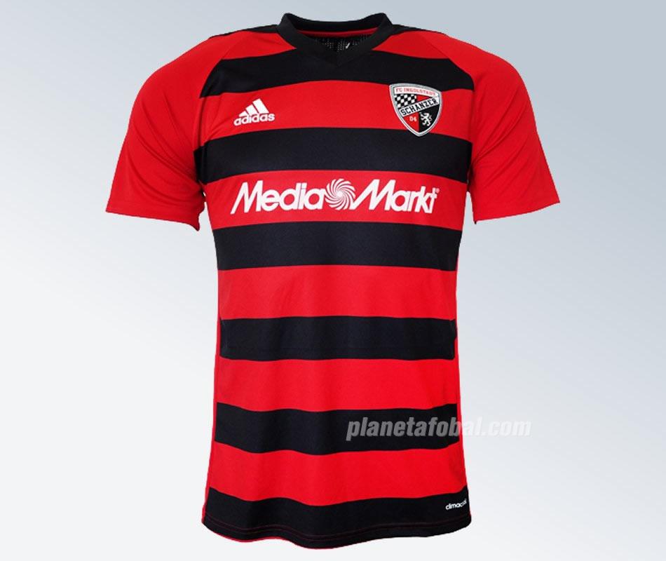 Nueva camiseta titular Adidas del FC Ingolstadt 04 | Foto Web Oficial