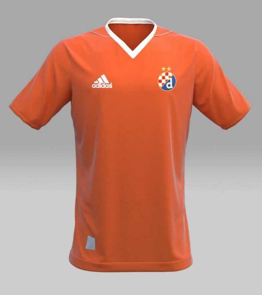 Camiseta suplente Adidas del Dinamo Zagreb | Foto Web Oficial