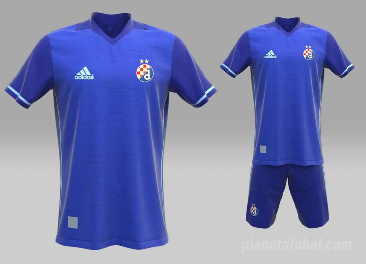 Camiseta titular Adidas del Dinamo Zagreb | Foto Web Oficial
