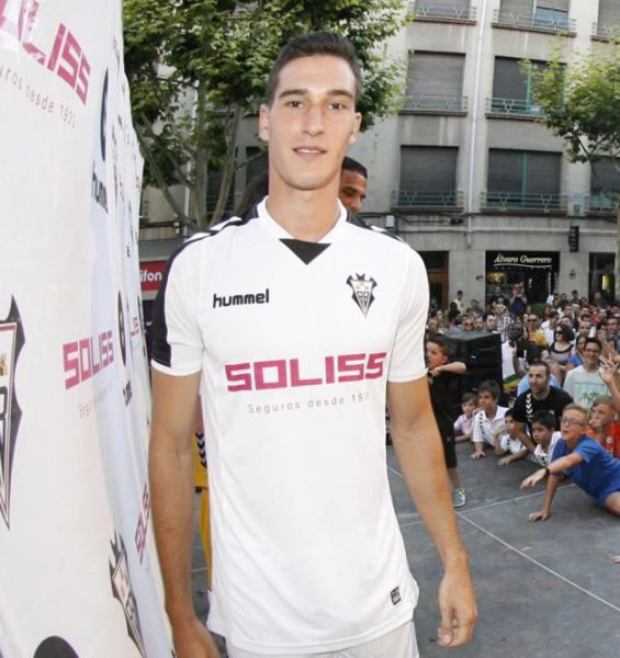 Camiseta titular del Albacete | Foto Facebook Oficial