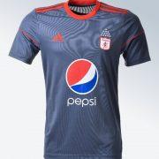 Nueva camiseta visitante del América de Cali   Foto Web Oficial