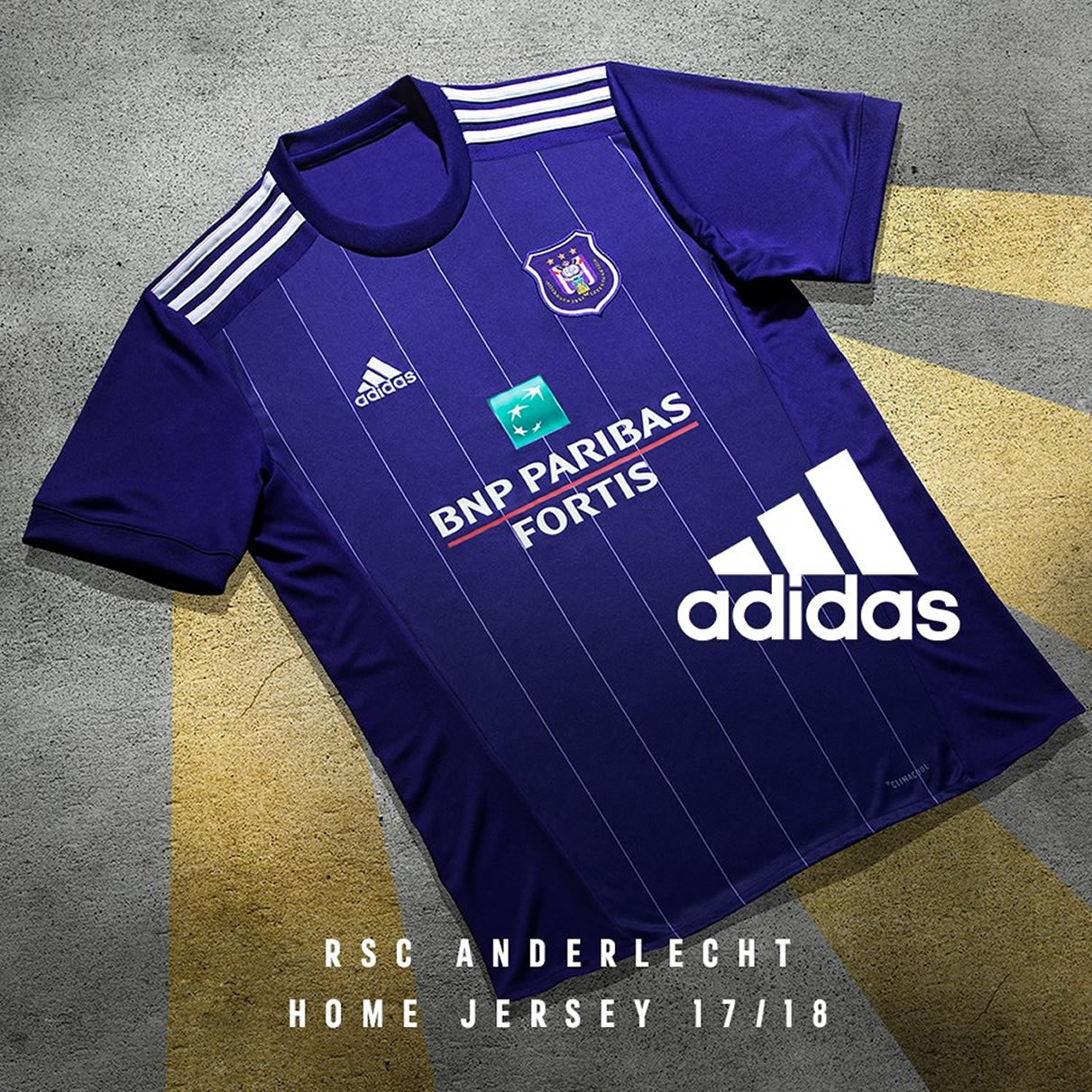Camiseta titular Adidas del RSC Anderlecht | Foto Web Oficial