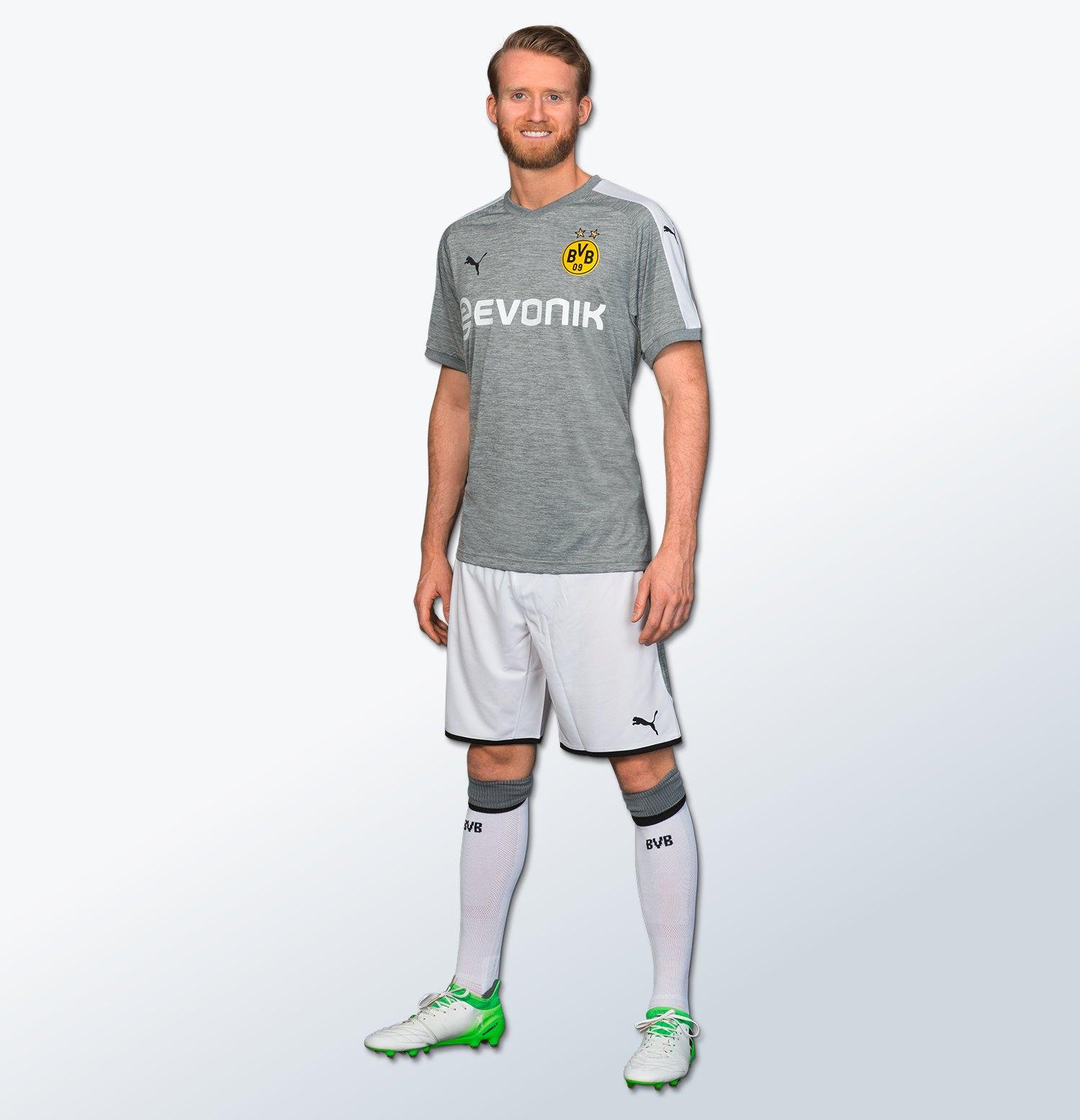 André Schürrle con la tercera camiseta de BVB | Foto Web Oficial