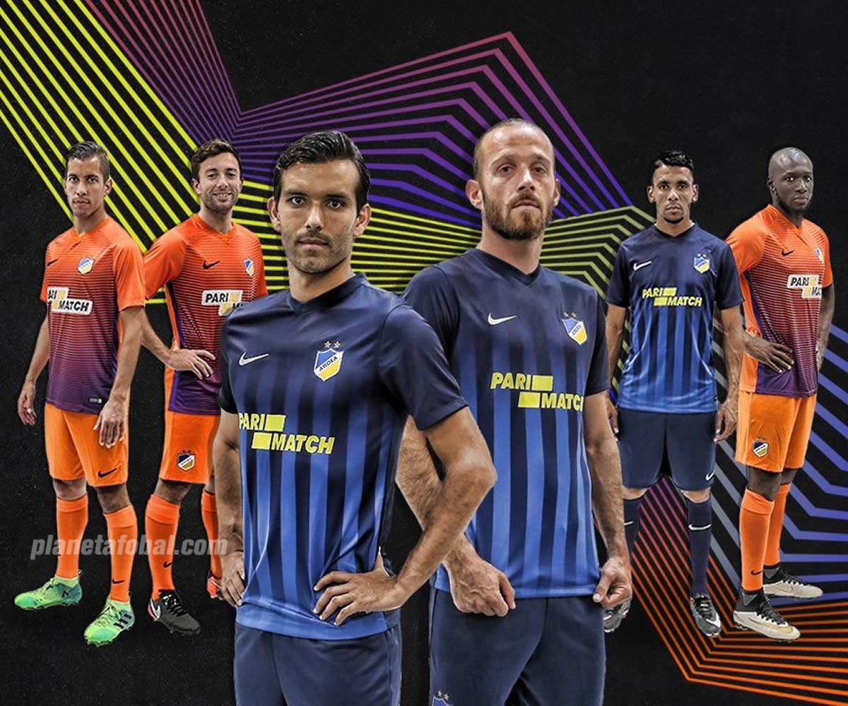 Camisetas alternativas Nike del APOEL Nicosia FC | Foto Web Oficial