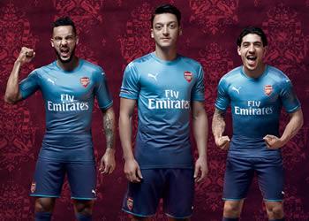Camiseta suplente Puma del Arsenal | Foto Web Oficial