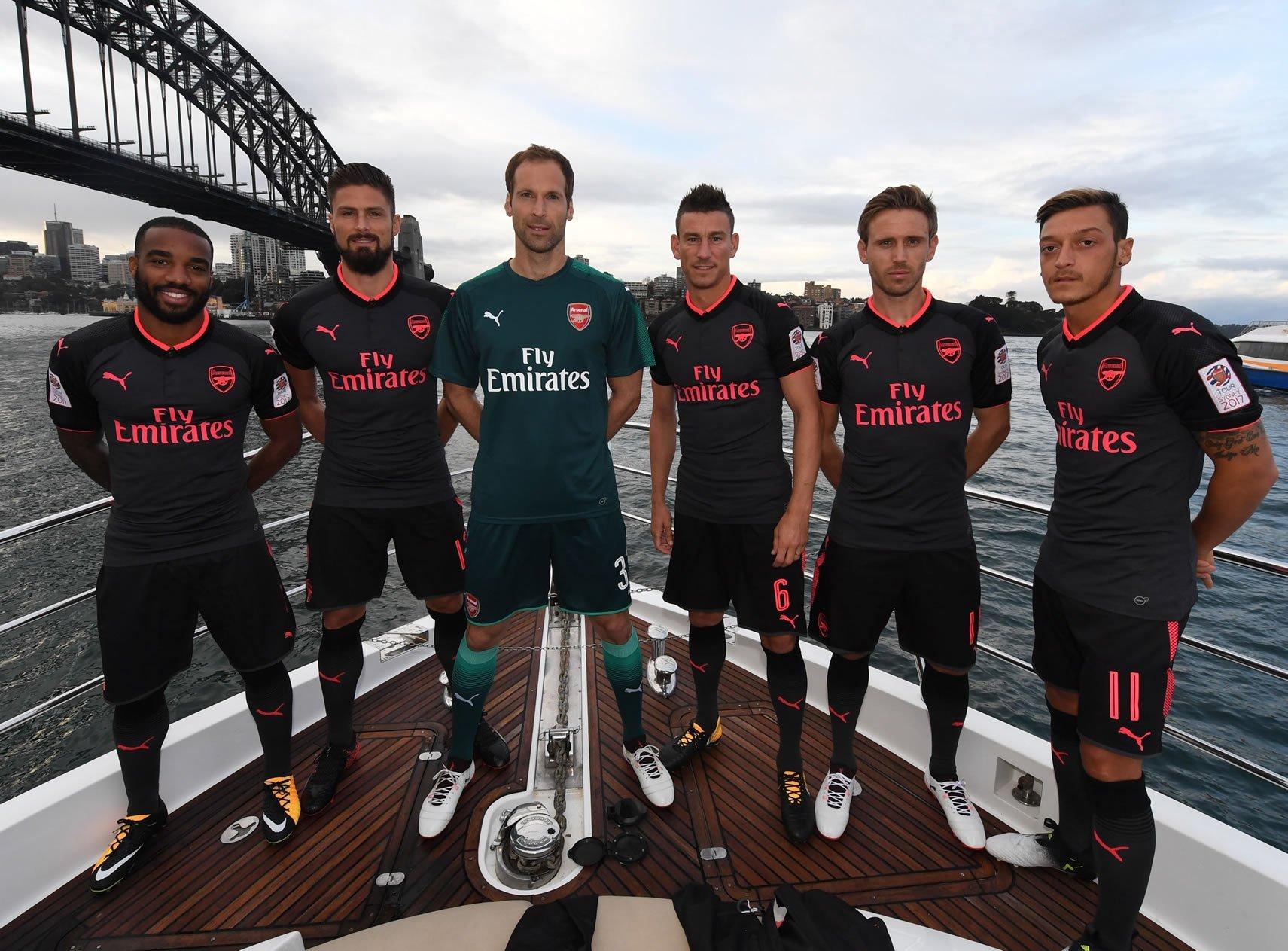 Tercera camiseta del Arsenal | Foto Web Oficial