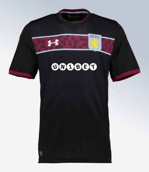 Camiseta suplente 2017-18 del Aston Villa | Foto Web Oficial
