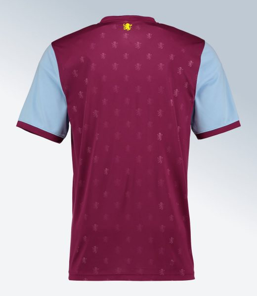 Camiseta titular 2017-18 del Aston Villa | Foto Web Oficial