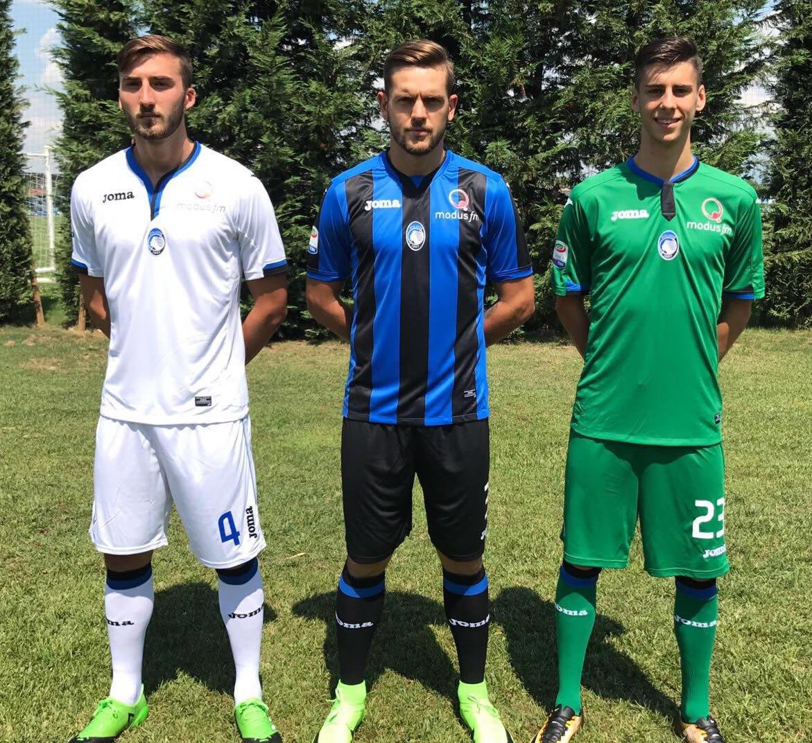 Camisetas Joma Sport del Atalanta | Foto Web Oficial