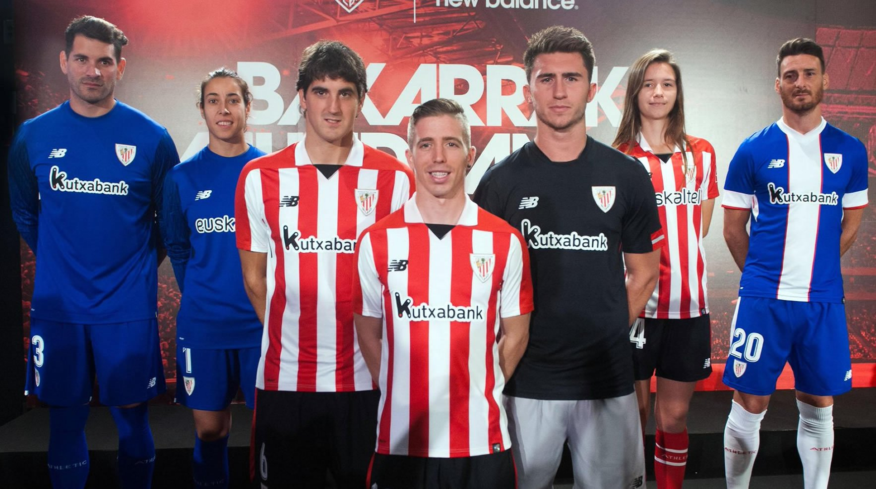 75894919c9aa7 Camisetas New Balance del Athletic Bilbao 2017 2018