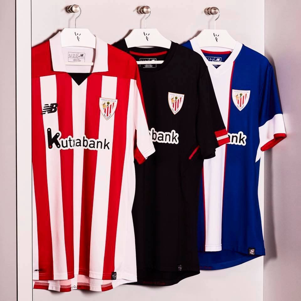 Camisetas del Athletic Club de Bilbao | Foto New Balance