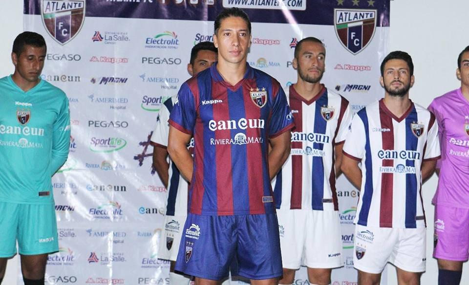Camiseta titular Kappa del Atlante FC | Foto Twitter Oficial