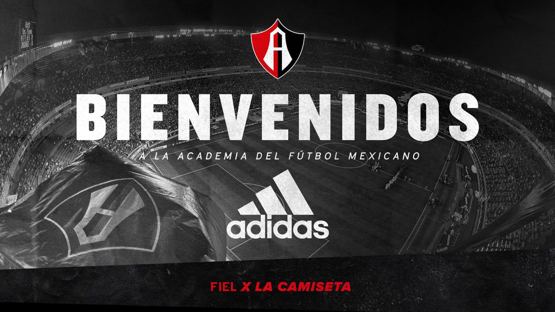 Atlas será vestido por Adidas | Foto Twitter Oficial