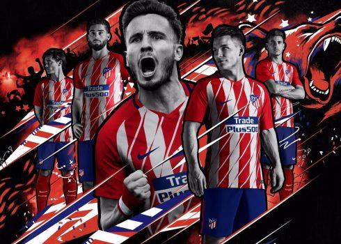 Camiseta titular Nike del Atlético de Madrid | Foto Web Oficial