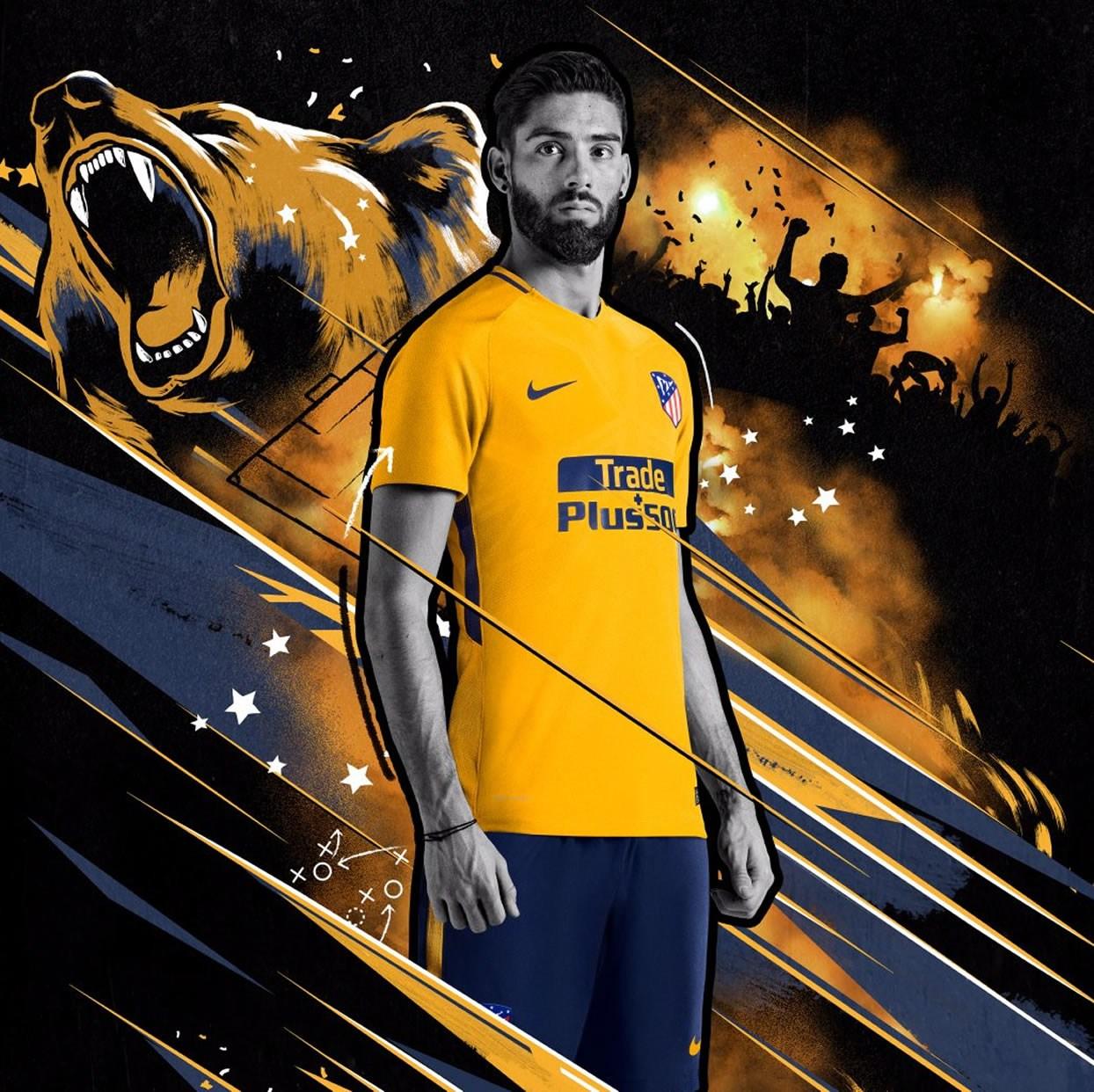 Camiseta suplente Nike del Atlético de Madrid | Foto Web Oficial