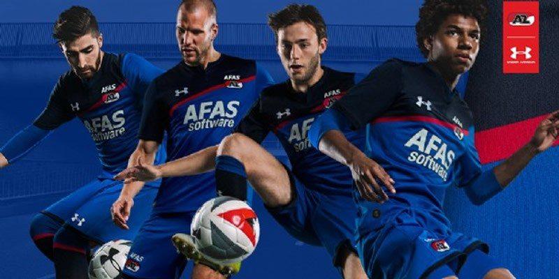 Nuevo kit alternativo del AZ Alkmaar   Foto Web Oficial