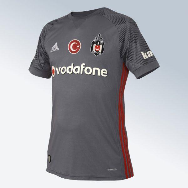 Tercera camiseta Adidas 2017-18 del Besiktas | Foto Web Oficial