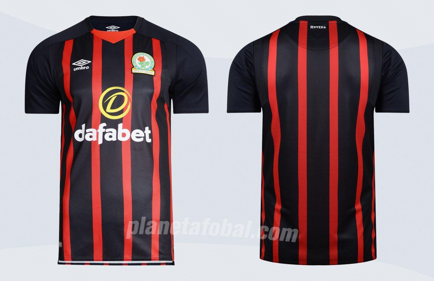 Camiseta suplente del Blackburn Rovers | Imágenes Web Oficial