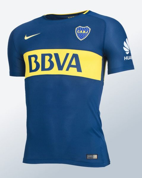 Nueva camiseta titular Nike de Boca | Foto Web Oficial