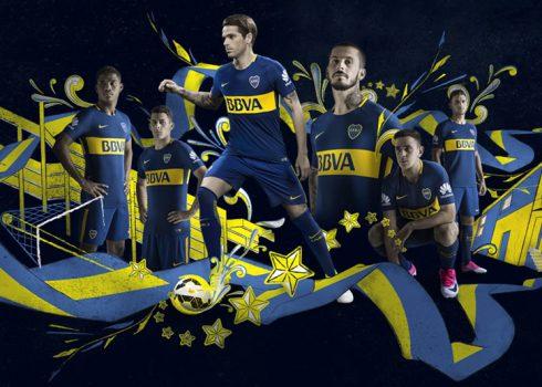 Nueva camiseta titular de Boca   Foto Nike