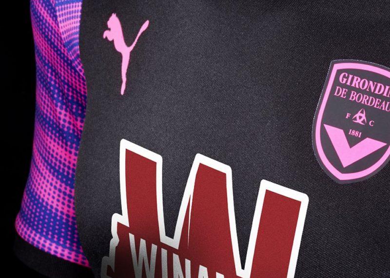 Tercera camiseta del Bordeaux para 2017/18 | Foto web oficial