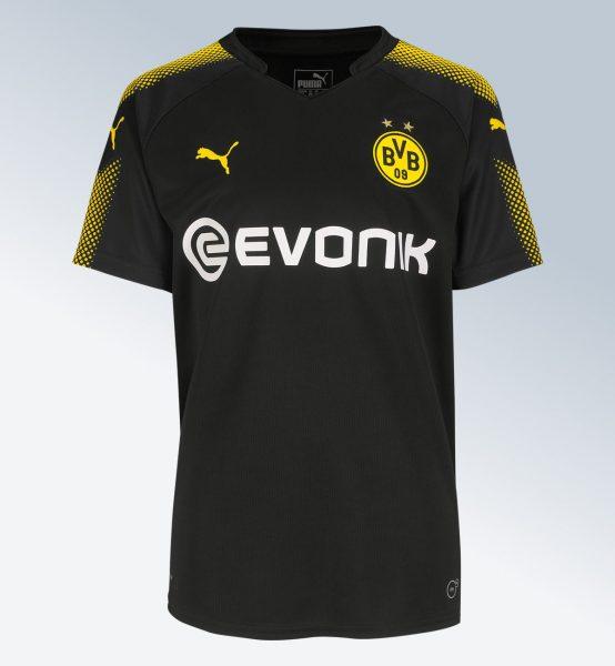 Camiseta suplente del Borussia Dortmund para 2017/18 | Foto web oficial