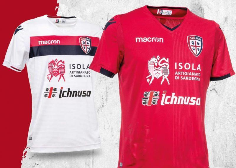 Nuevas camisetas del Cagliari Calcio   Foto Web Oficial