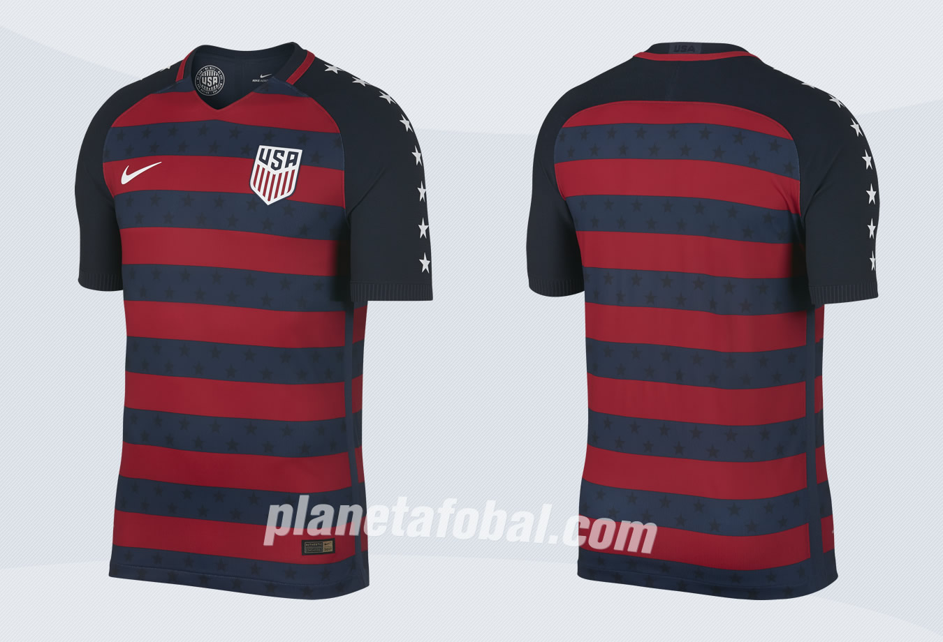 Camiseta de Estados Unidos para la Copa Oro 2017 | Imágenes Nike