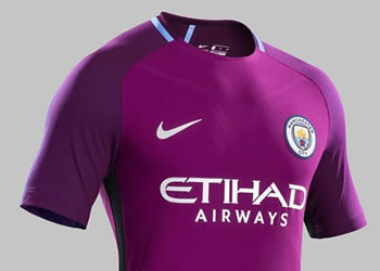 Camiseta suplente del Manchester City | Foto Nike