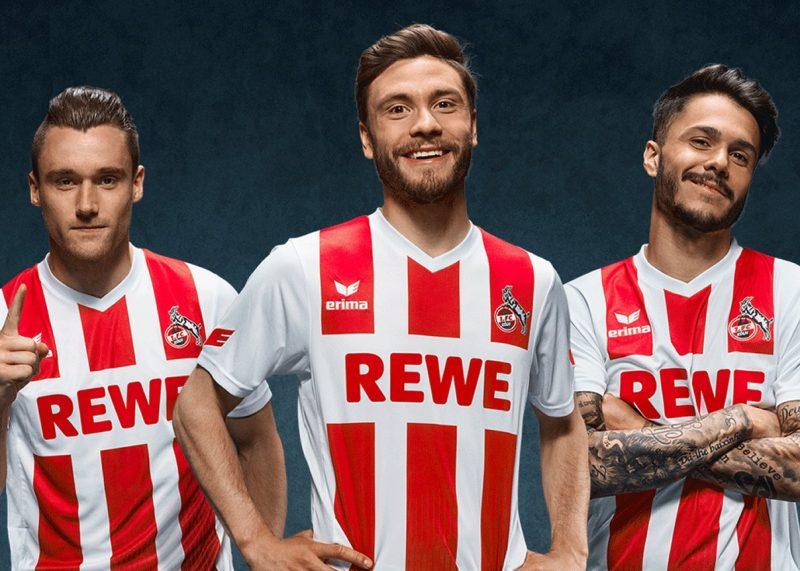 Camiseta titular Erima 2017-18 del FC Köln | Foto Web Oficial