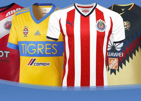 Las camisetas de la Liga MX 2017-2018